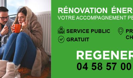 Rénovation-isolation : pensez REGENERO
