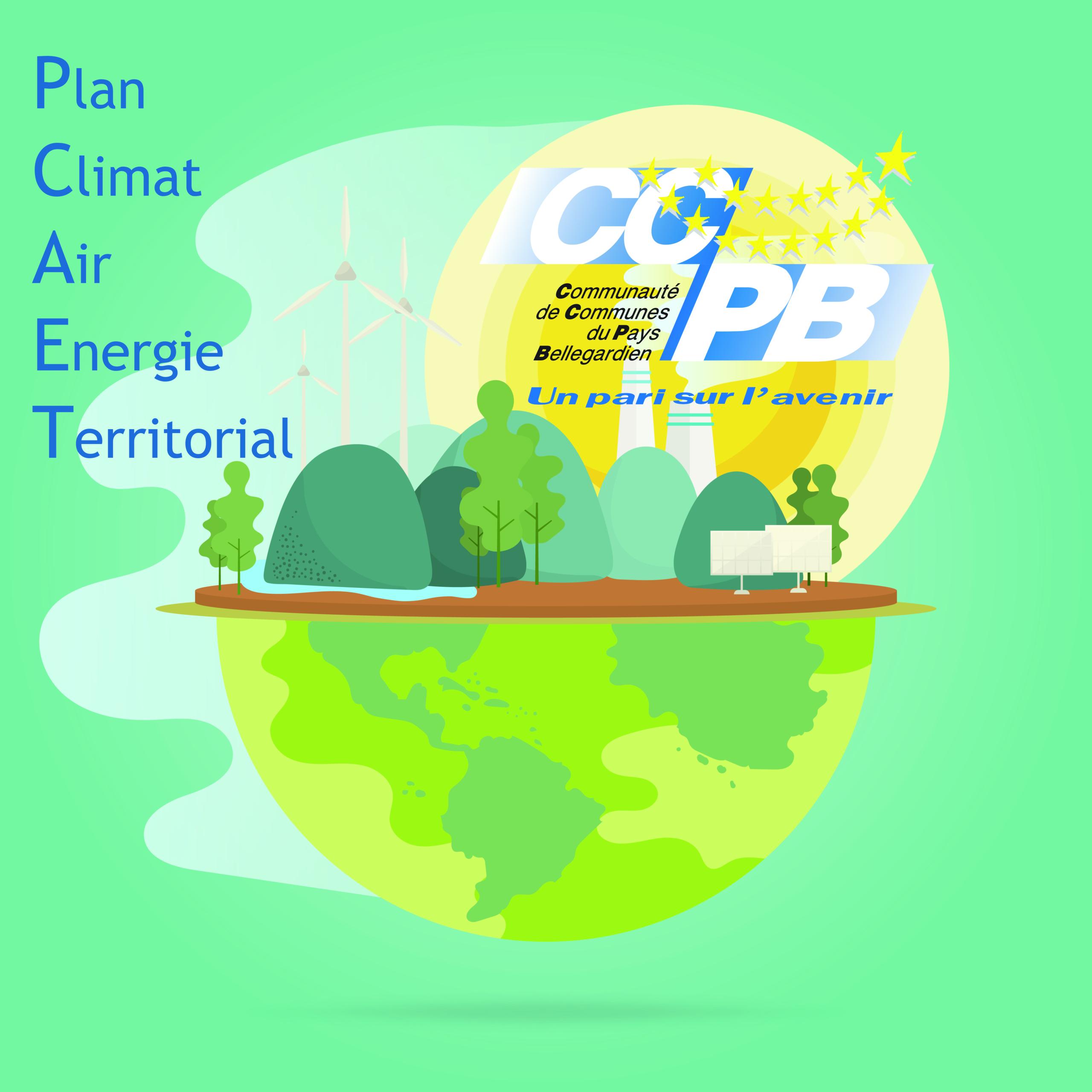 PCAET (Plan Climat Air Energie Territorial) à disposition du public jusqu'au 3 mars 2020 inclus