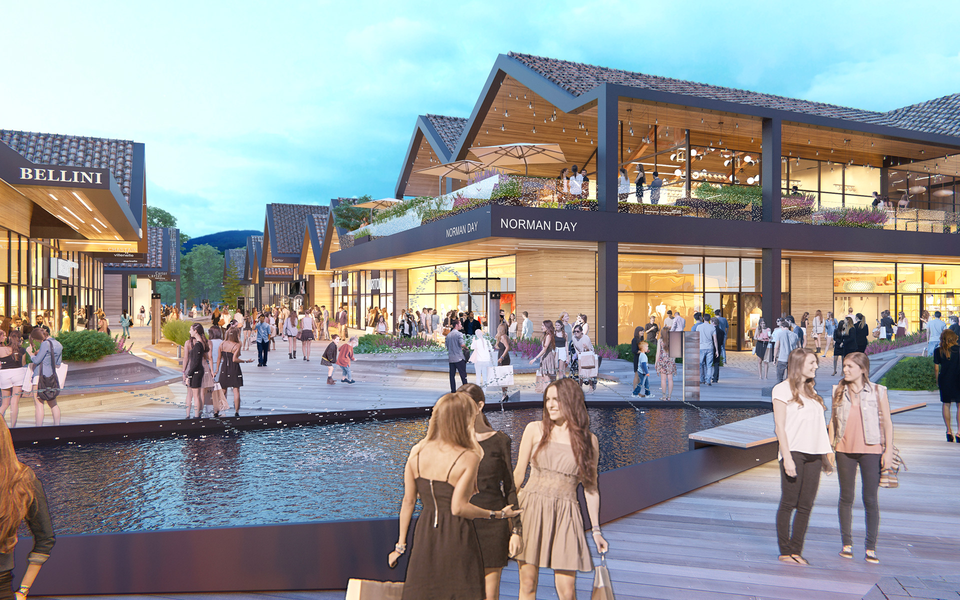 Village de marques «Alpes the style outlets»