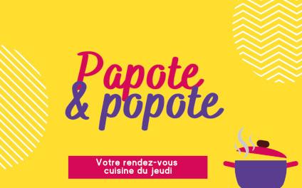 HAPPY VISIO - Cycle de visioconférences « Papote & Popote »