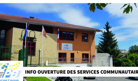 Maintien de l'ouverture des services