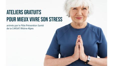 """CLIC - Ateliers gratuits """"Mieux vivre son stress"""""""